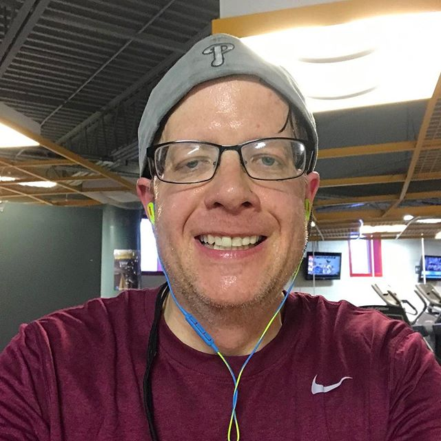 The gym was pretty light today due to yesterday's snowstorm. I didn't work out as hard today due to shoveling yesterday, but I am glad I started my day with a workout. #workoutmotivation #pma #gymaddict #veganfitness #weightlosstransformation