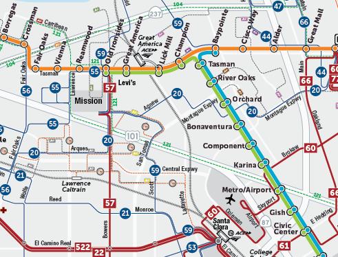 Bản đồ Tuyến đường của Dự thảo Kế hoạch Dịch vụ Vận chuyển Mới 2019  (PDF)