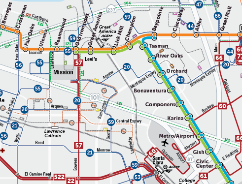 Draft 2019 New Transit Service Plan  System Map  (PDF)