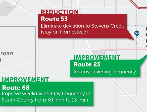 Draft 2019 New Transit Service Plan  Major Changes to Next Network Map  (PDF)
