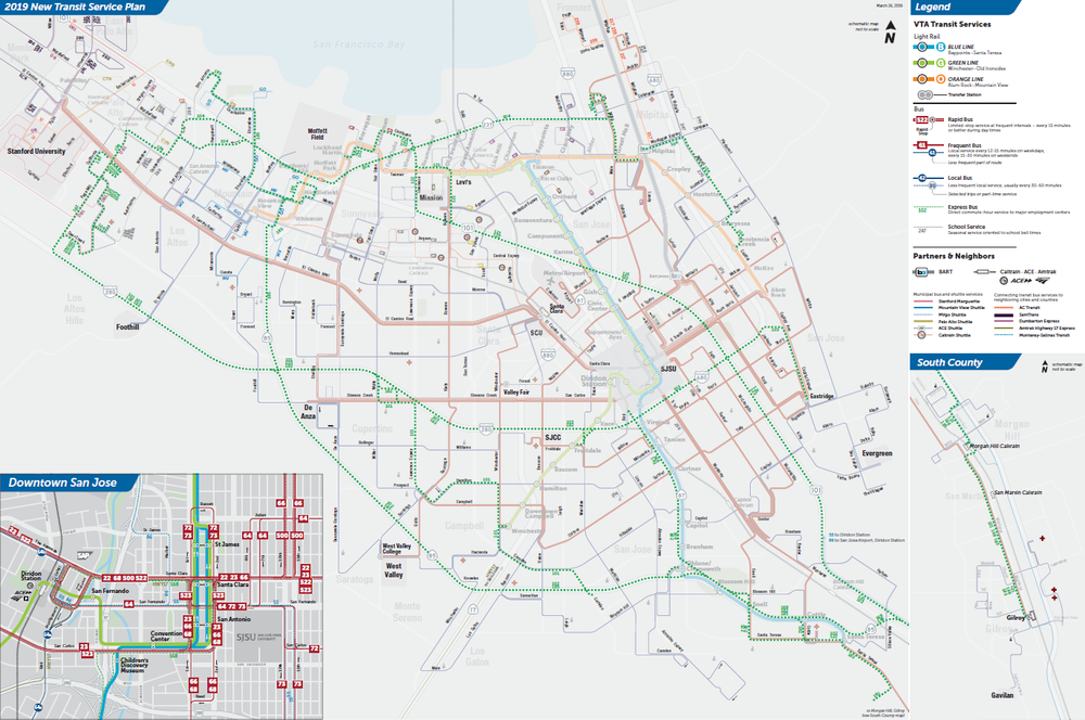 Proposed Express Bus Routes Map  (PDF)