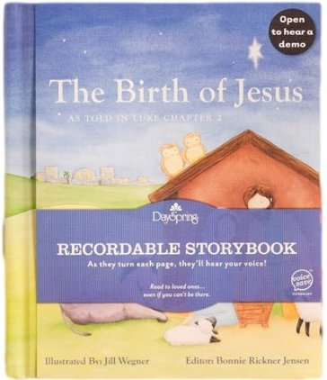 The Birth of Jesus (As Told in Luke Chapter 2) Recordable Storybook