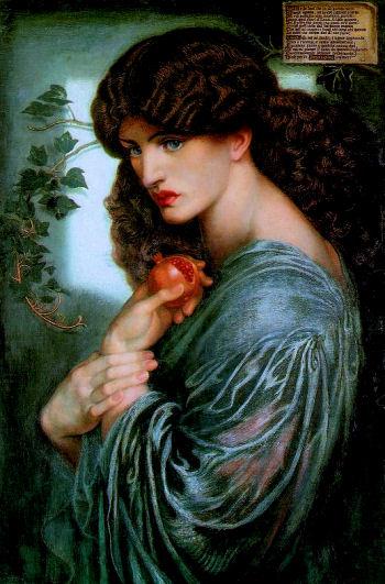 Dante Gabriel Rossetti, Persephone