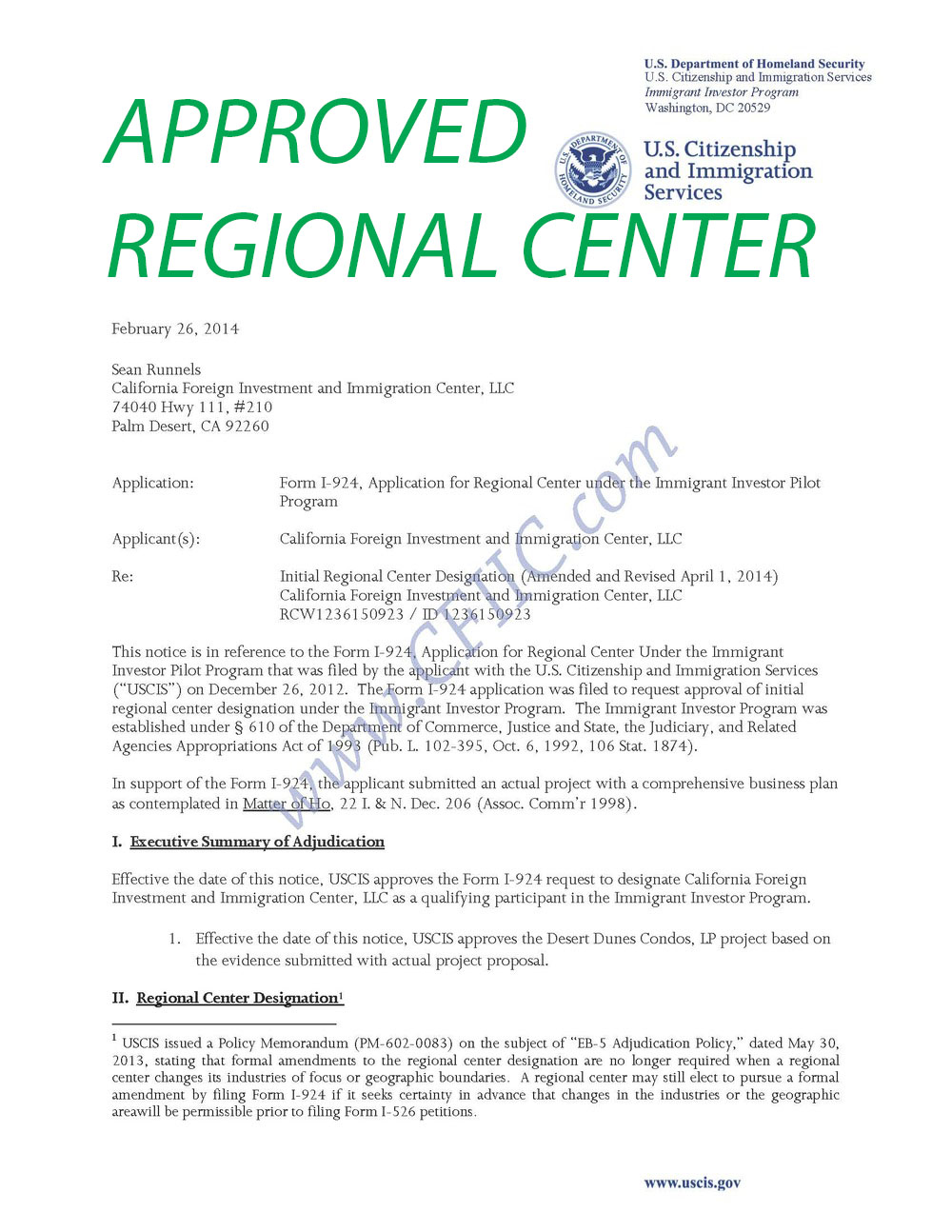 California regional eb 5 center falaconquin