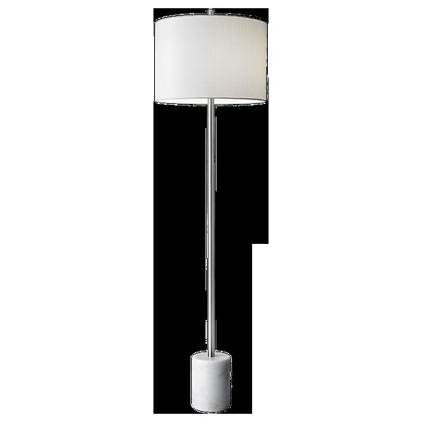 blythe floor lamp - White : $215