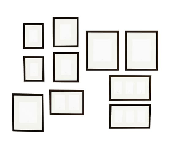 gallery frames - Black  :  10  :  $280