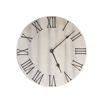farmhouse wall clock - 24