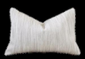 "Herringbone Pillow : 12"" x 18"" : $48"