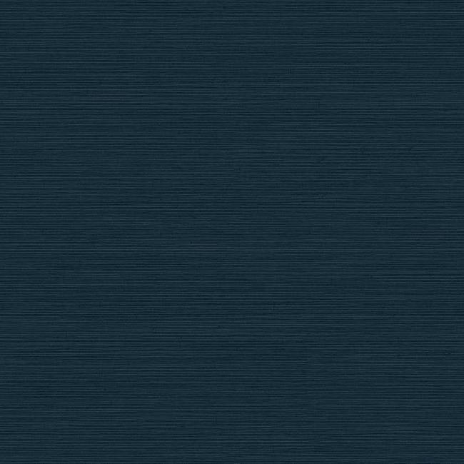 shining sisal faux grasscloth wallpaper - DARK METALLIC NAVY
