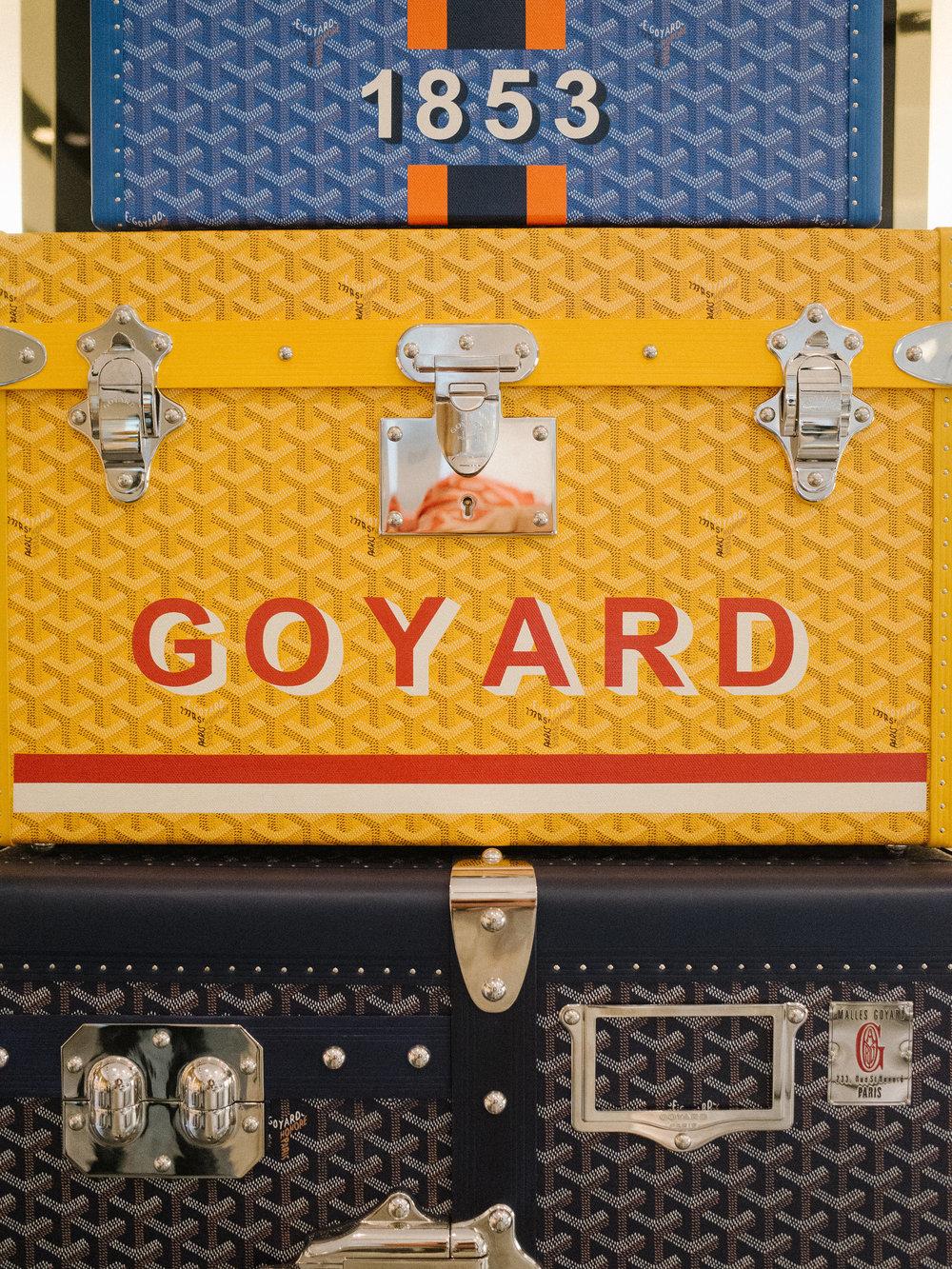The real deal Goyard photgraphed at Barneys.