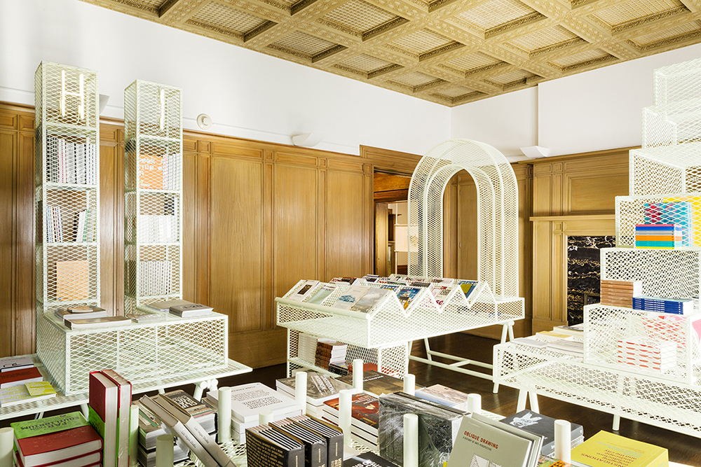 Graham Foundation Bookshop, designed by Ania Jaworska, Chicago, IL