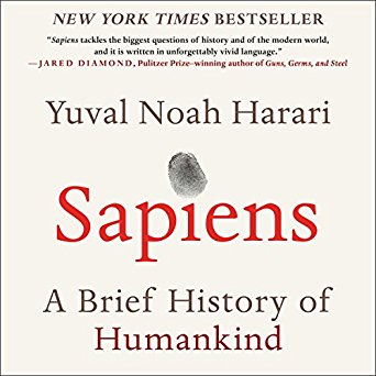 Sapiens: A Brief History of Humankindby Yuval Noah Harari  - From a renowned historian comes a groundbreaking narrative of humanity's creation and evolution - a number one international best seller - that explores the ways in which biology and history have defined us and enhanced our understanding of what it means to be
