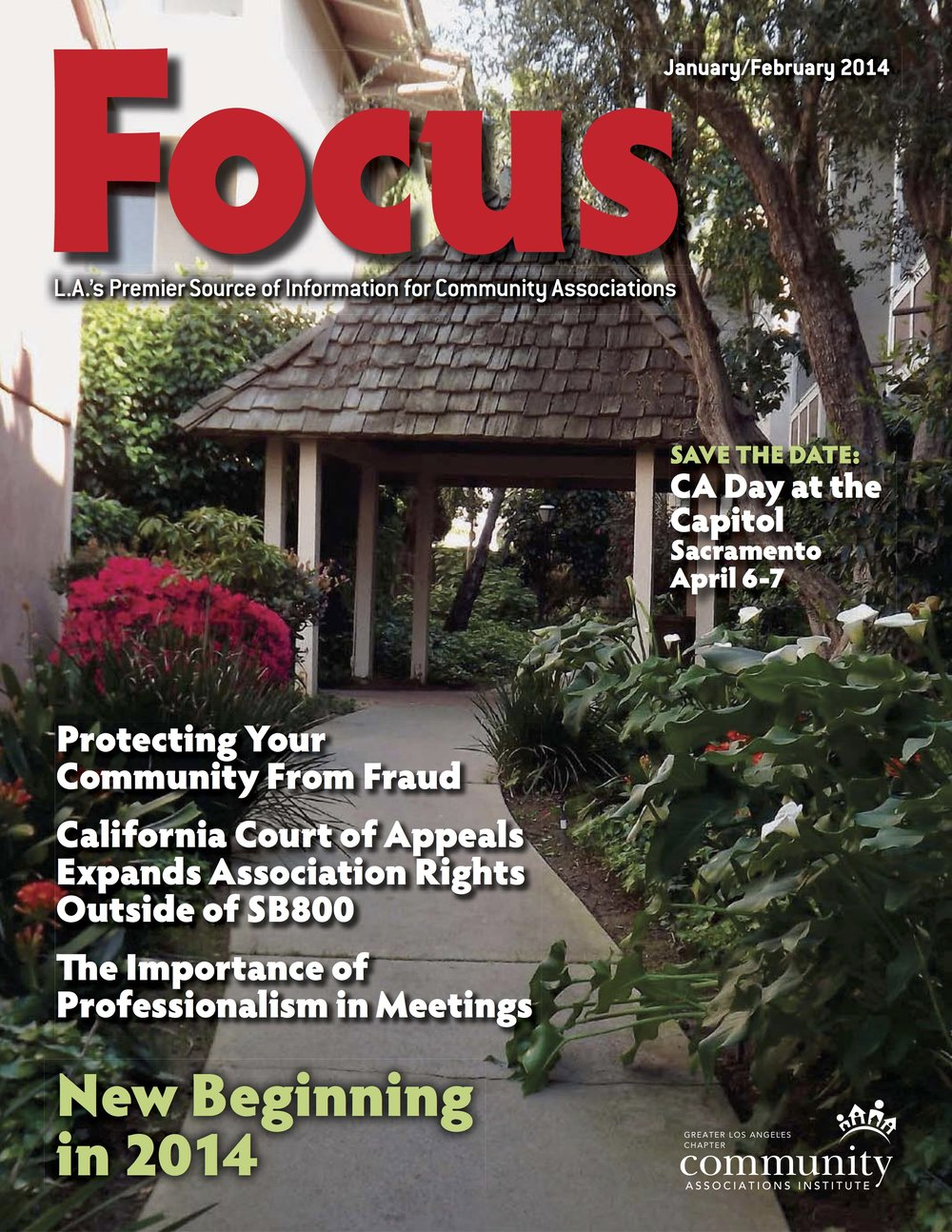 CAI Focus Magazine - California Court of Appeals Expands Association Rights Outside of SB 800
