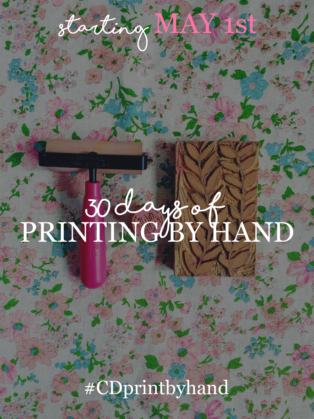 30 Days of Printing by Hand Artwork Blog