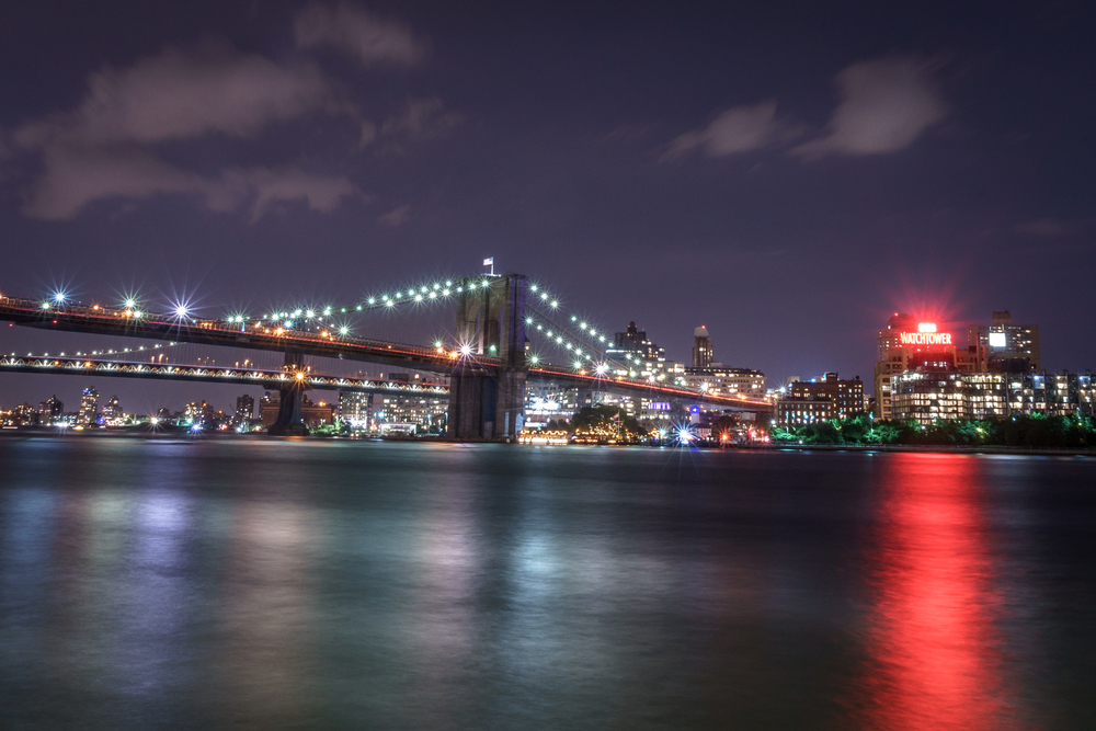 Our hotel was just a block away from the east river and these views of the Brooklyn Bridge.