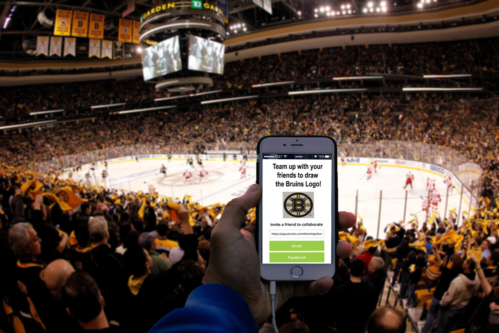 social Sharing - Create the social sharing buzz by inviting friends on social media to be part of the game, without actually being there! Or go head to head against opposing fans in real time.
