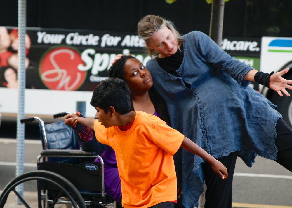 Eugene Street Parade Performance DanceAbility