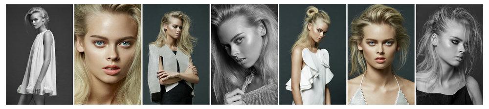Photo Milos Mlynarik Hair Phillip Barwick Make up Regina Gao Stylist Angela Liang Model Holly Magson @ Chadwicks