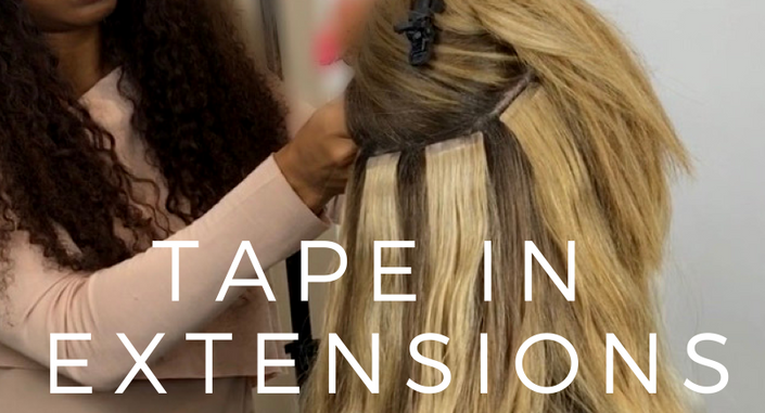- Tape In Extensions 101