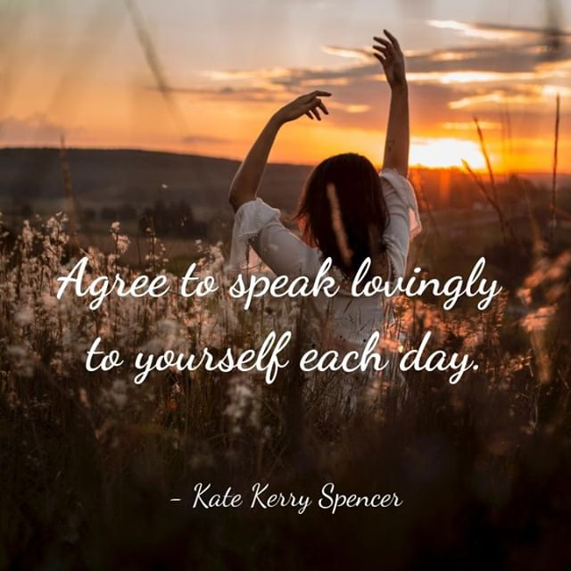 Speak with love and kindness to yourself. #love #kindness #compassion #selfcare