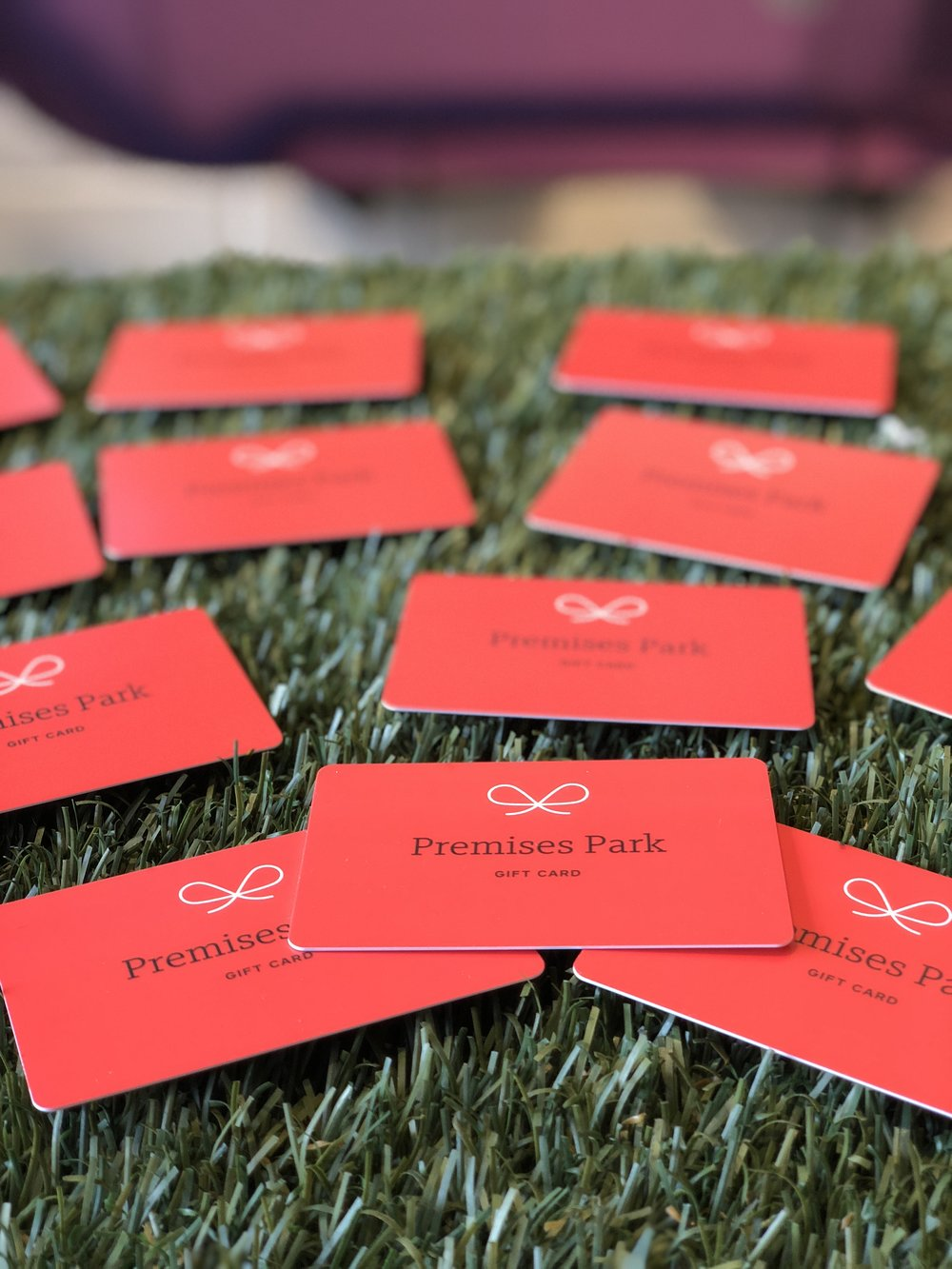 We Have gift cards! They can be used for admission, or in our store.  Click here!