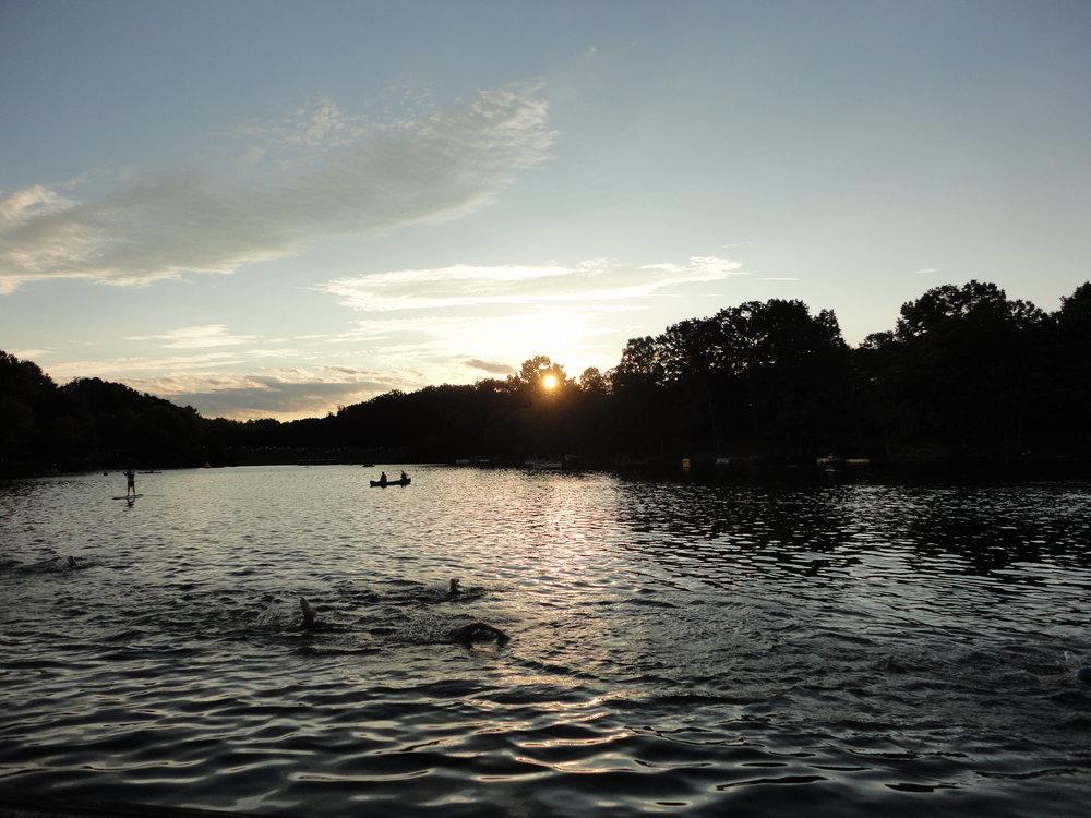 A beautiful day at Lake Audubon