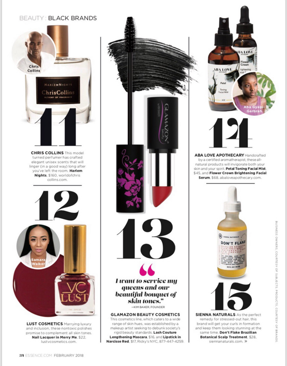 Aba Love Apothecary Essence Magazine