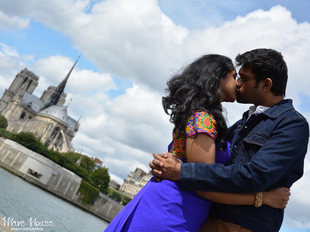 Indian Romance in Paris