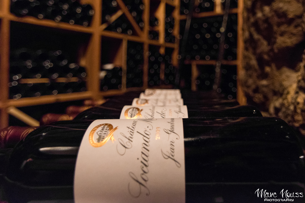 "The Restaurant ""Le Cinq"" Wine Cellar"