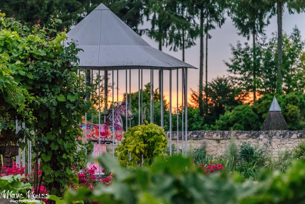 Gardens at Sunset