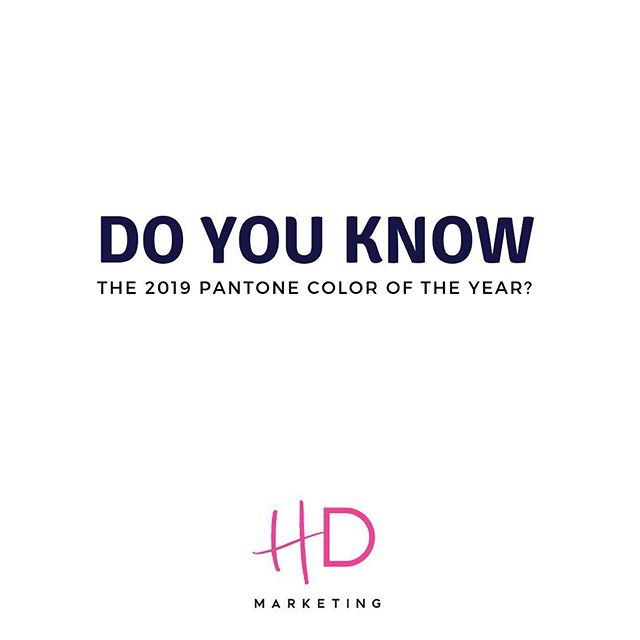 The 2019 Pantone color of the year has been announced! 😍 Can you guess what it is? 💓 Your Chief Virtual Marketing Officer, @ashyfons . . . . . . . . . . #happydays #orlandoagency #marketingplan #supportlocalbusiness #orlandobusiness #smallbusiness #femaleowned #smallbusinessowner #bossbabe #shemeansbusiness #virtualmarketingofficer #prettypowerful #digitalmarketingagency #marketingcoach #smallbizowner #socialmediaguru #creativelifehappylife #girlboss #socialmediaagency #eventmanagement #floridaagency #floridafempreneur #digitalbusinessowner #femalefounder #beingtheboss #entrepreneur #entrepreneurship #advertising #marketing