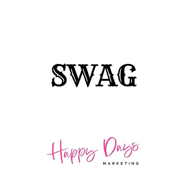 Happy SWAG (Stuff We All Get) Sunday. Need some really cool stuff to represent your brand in a unique and memorable way? Look no further. Send us a message to get your SWAGGER on or simply set up a call with us to help us help you! ☎️ We'll get together some custom made items that are branded with your business name or logo! 💗 Popular items we've created custom for our clients: cards (thank you, holiday, invitations), pens, tote bags, hats, t-shirts, mugs, notepads, golf balls, bumper stickers, party decorations and many more. 👍🏽 • • • • • • • • • • #happydays #customswag #designalifeyoulove #savvybusinessowner #makeitahappyday #entrepreneurship #girlboss #futureisfemale #womanceo #followyourdreams #creativelifehappylife #creativepreneur #mindsetshift #calledtobecreative #femaleentrepreneur #goals #smallbizowner #solopreneur  #lifeofabundance #girlbosslife #girlpower #happydaysmarketing #bossladies #designalifeyoulove #sundayfunday #orlandoflorida #downtownorlando #instamarketing #instashop