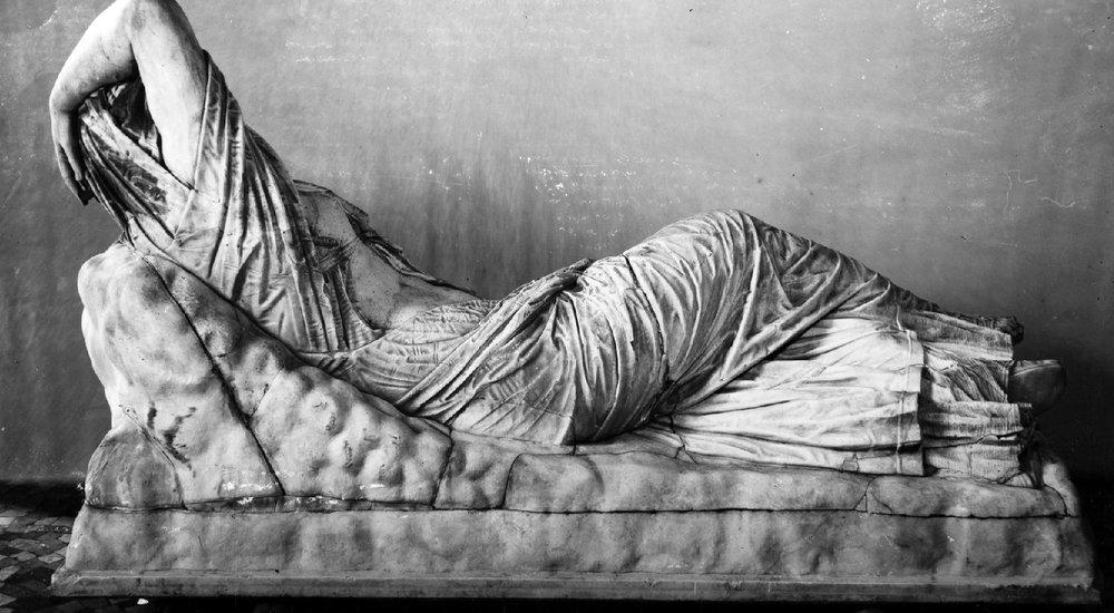 Ariadne Sleeping. 1st century BC.Florence, Museo Archeologico.