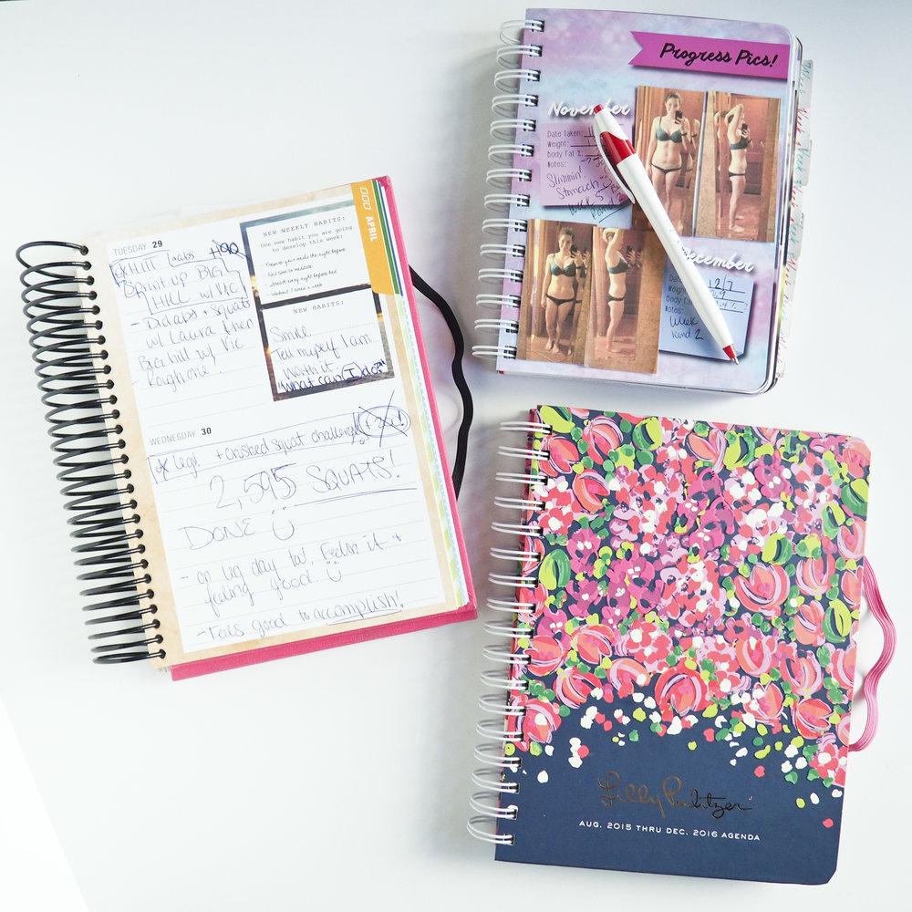 Girls Got Goalz Journaling- Progress Photos