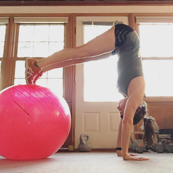 Exercise Balls are inexpensive and so fun to workout with!