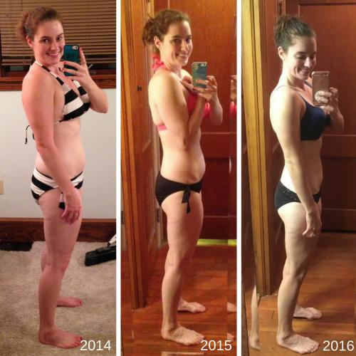 Three Year Transformation Photo Side