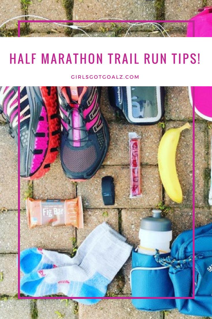 Half Marathon Trail Run Tips!
