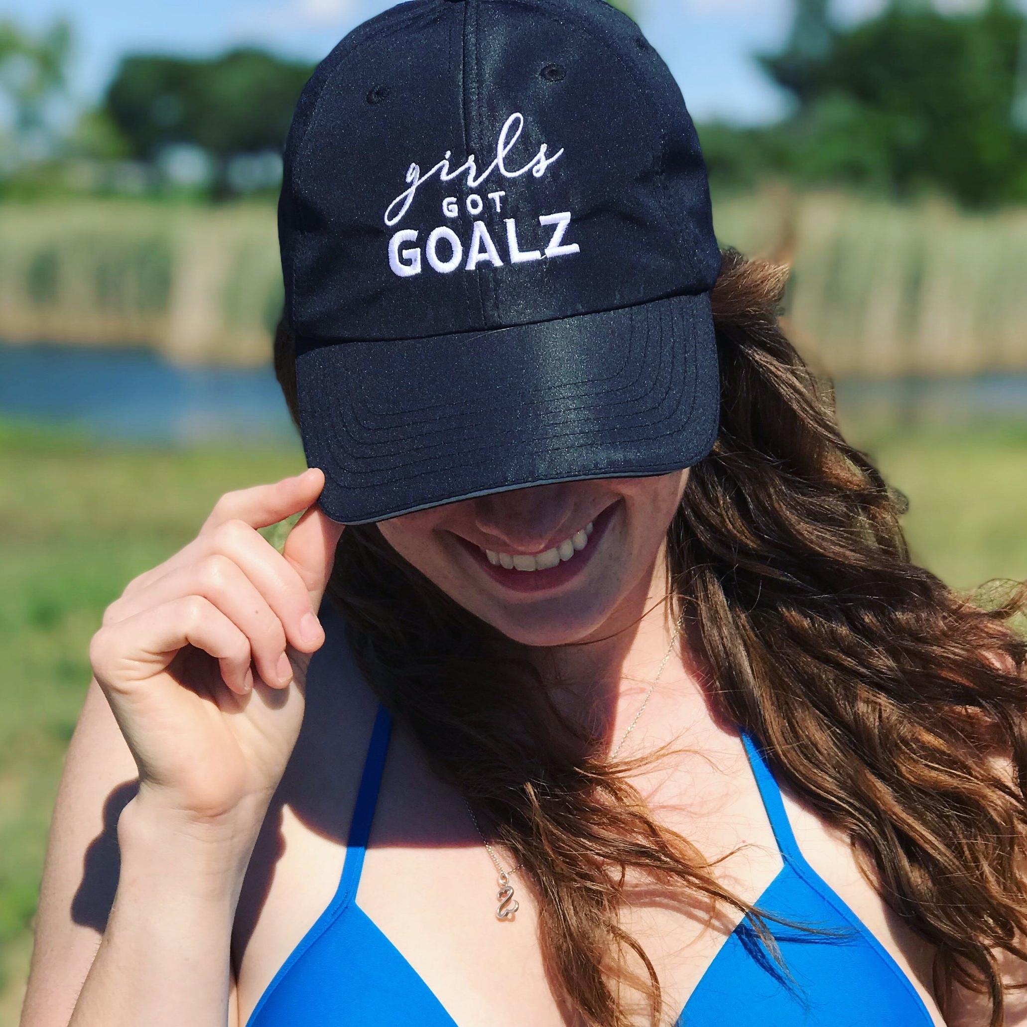 0532263619af4 Girls Got Goalz Black Workout Hat — GIRLS GOT GOALZ