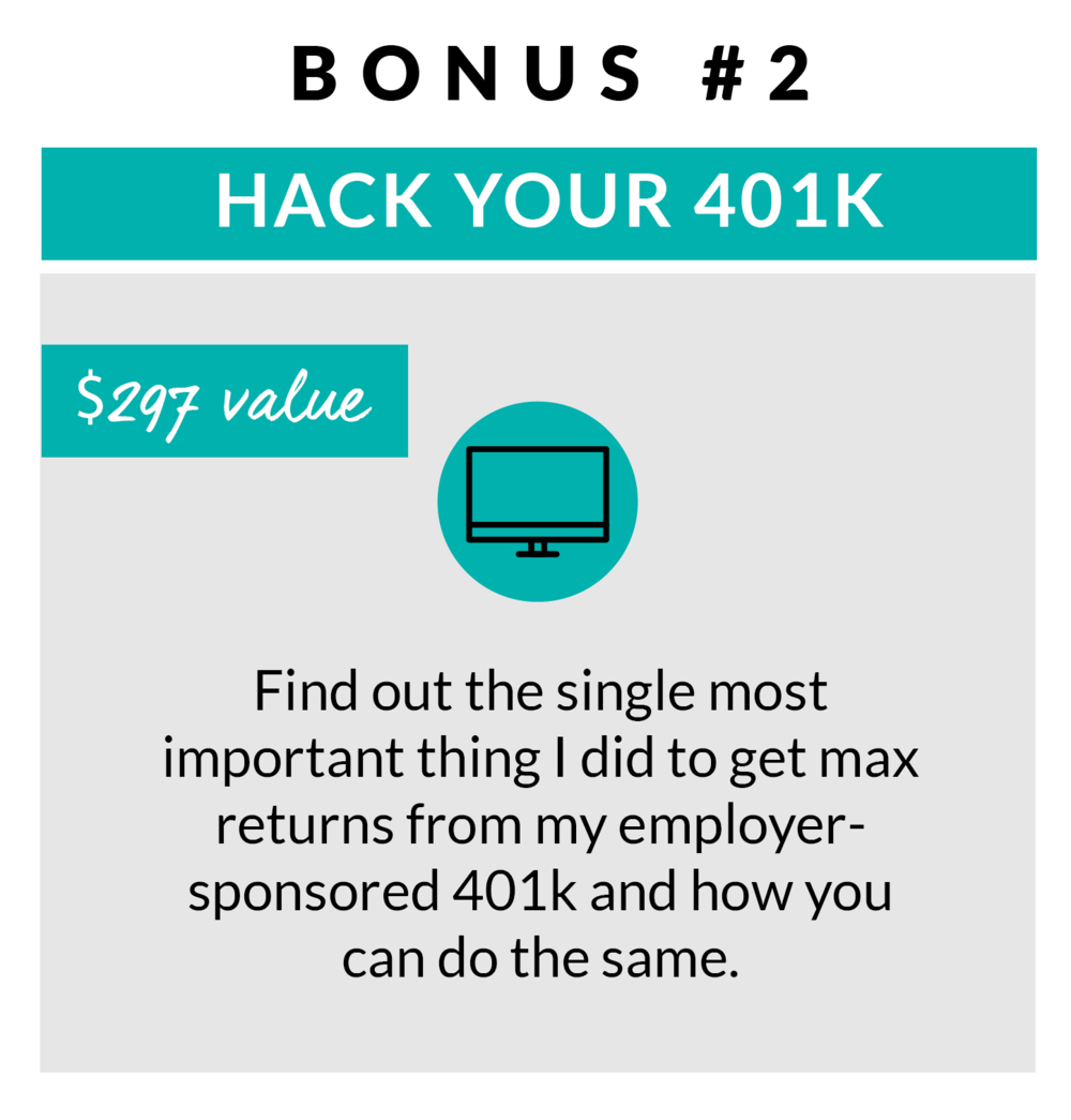 Trade Your 9 to 5 Bonus Hack Your 401k