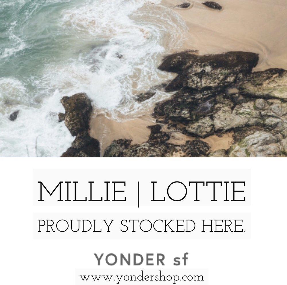 Millie | Lottie stocked at YONDER SHOP SF