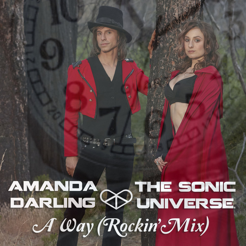 Amanda Darling, The Sonic Universe - A Way (Rockin' Mix) album cover Beatport release