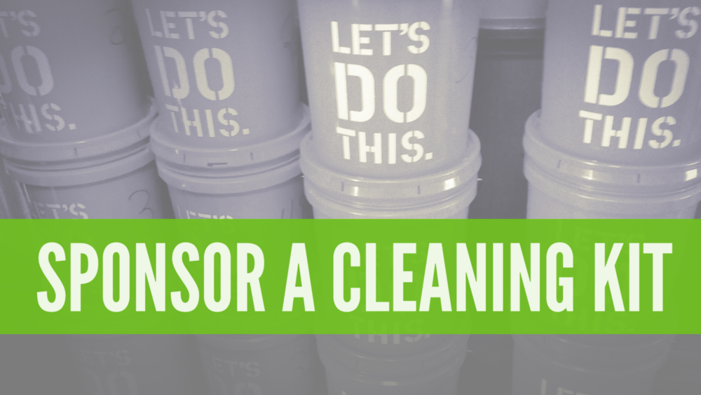 Sponsor a Cleaning Kit