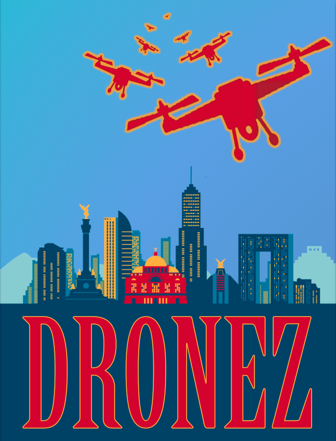 "Dronez - Staring and Directing the limited series ""Dronez"", now being shopped around."