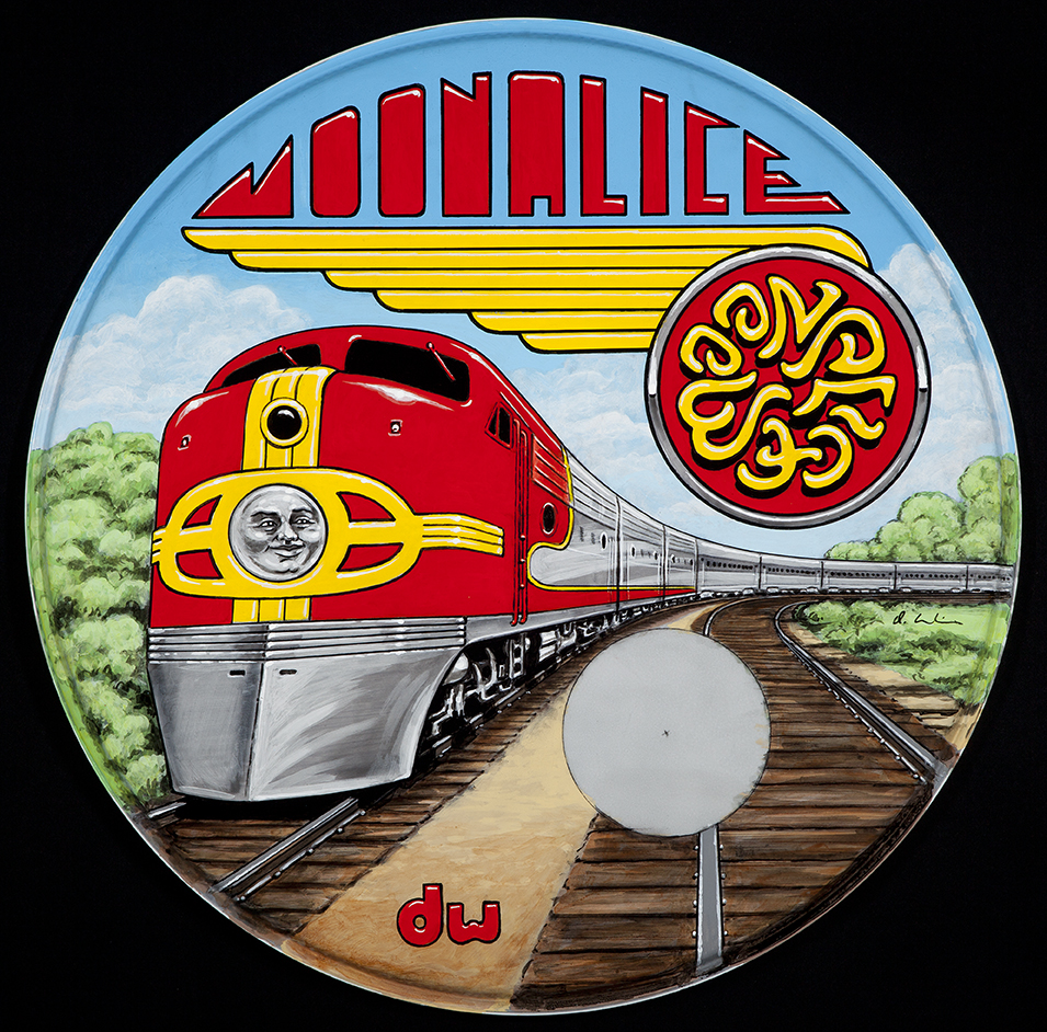 Train Drum Head