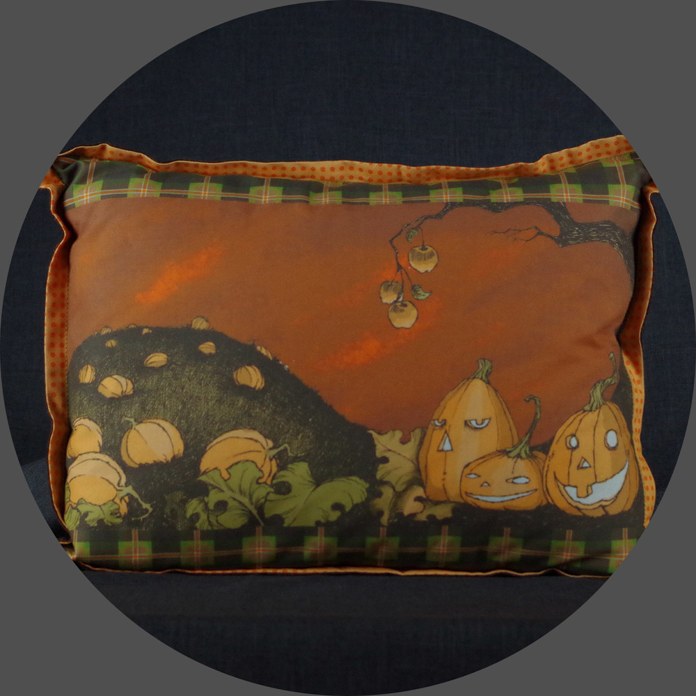 Stingy Jack Pumpkin Patch Pillow