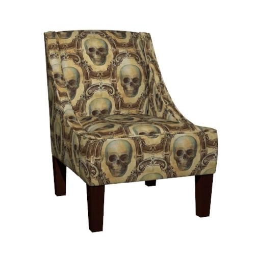 Victorian Skull Chair