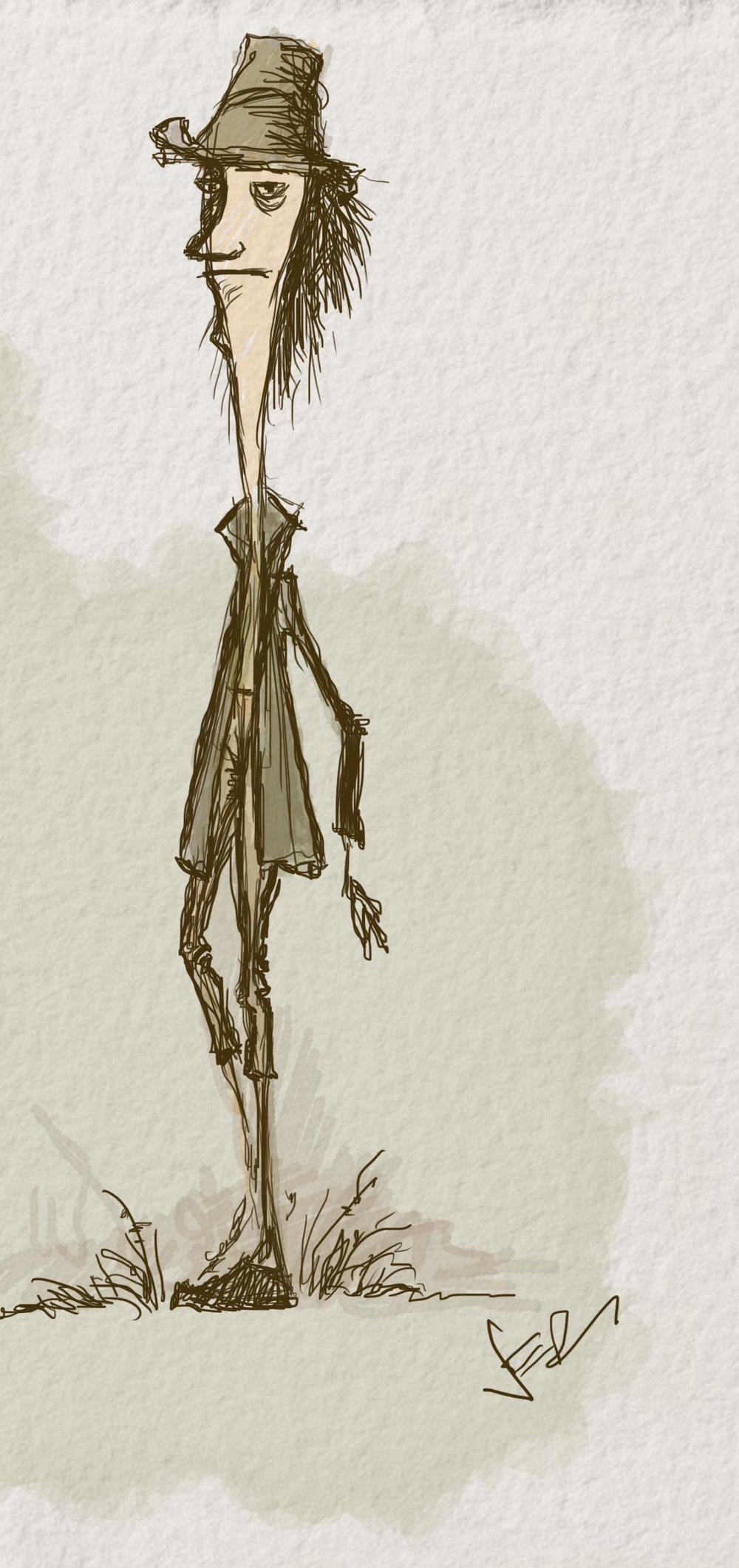 Stingy Jack sketch