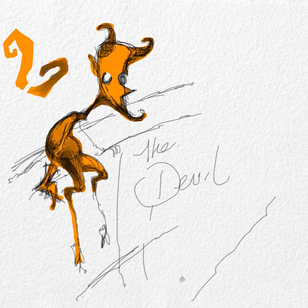 Devil Conceptual sketch