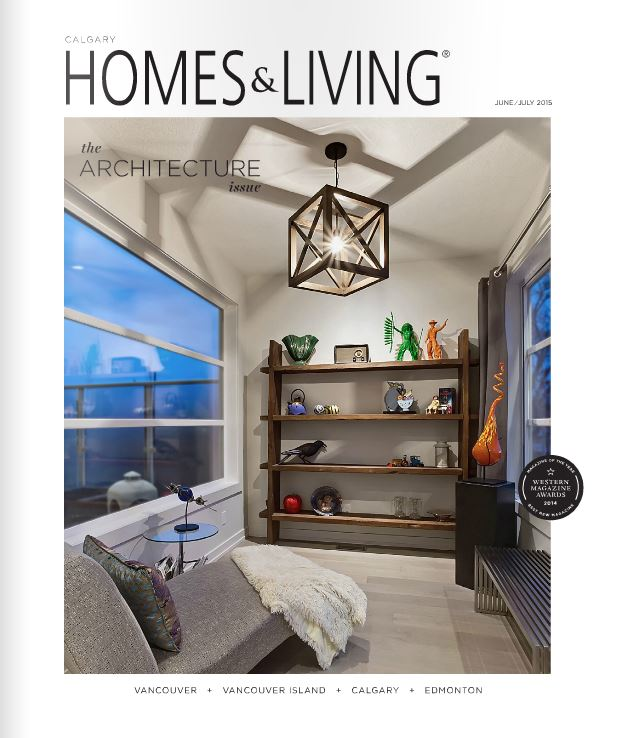 Magazine cover - Feature home design by hunter tristan