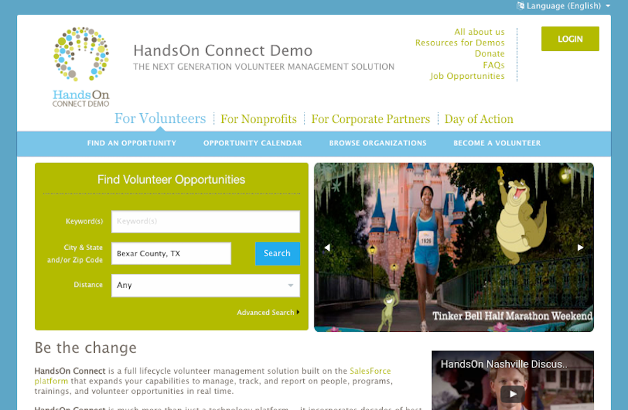 Dynamic Home Page